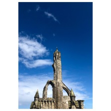 Part of the ruins of St Andrews Cathedral