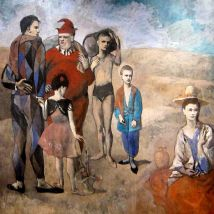 Pablo Picasso, Family of Saltimbanques, 1905. National Gallery of Art, Washington D.C.
