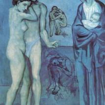 Pablo Picasso, La Vie, 1903. Cleveland Museum of Art.