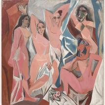 Pablo Picasso, Les Demoiselles D'Avignon, 1907. Museum of Modern Art, New York.