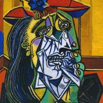 Pablo Picasso, The Weeping Woman, 1937. Tate.