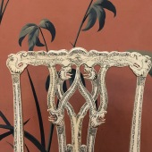 Set of side chairs, c. 1770. Royal Collection Trust, RCIN 487. (Detail)
