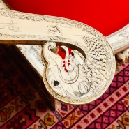 Pair of armchairs, c. 1770. Royal Collection Trust, RCIN 488. (Detail)